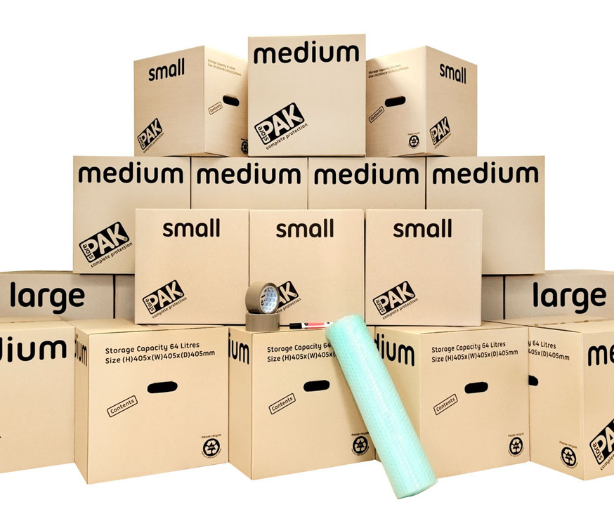 Boxes & Packaging Store Cookes Storage Service