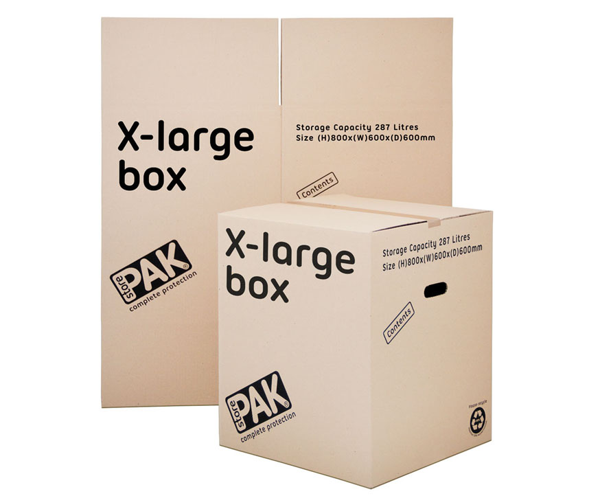 cookes storage extra large cardboard box