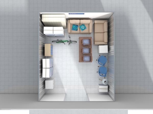 270 sq ft Unit Cookes Storage Service