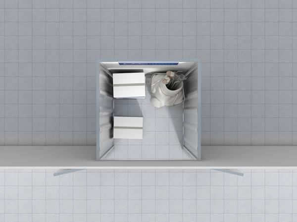 25 sq ft unit Cookes Storage Service
